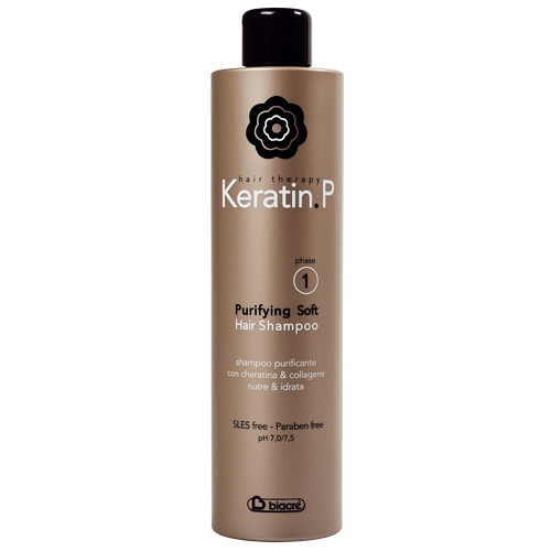 KERATIN P SHAMPOO PURIFY SOFT 500 ML - BIACRE'