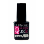 SMALTO GEL QUICK ARGENTO GLITTER 8 ML