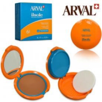 Fondotinta - Compatto- Il Sole - UVB 30- 8 ML - ARVAL