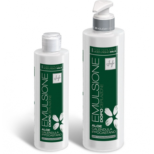 EMULSIONE DOPOCERA ALOE 500 ML - HOLIDAY DEPILATORI